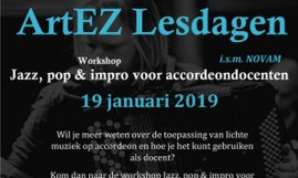 Workshop Jazz & Impro voor Accordeondocenten